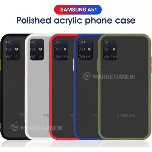 قاب Samsung Galaxy A51 طرح defender برند راک |