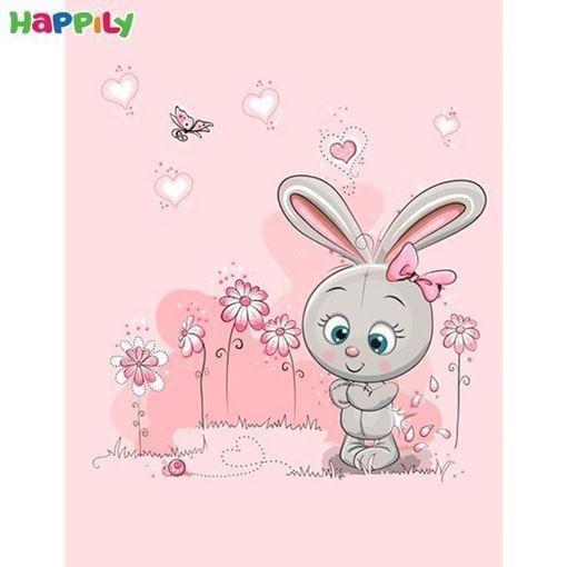 فرش اتاق کودک طرح خرگوش 51200 |