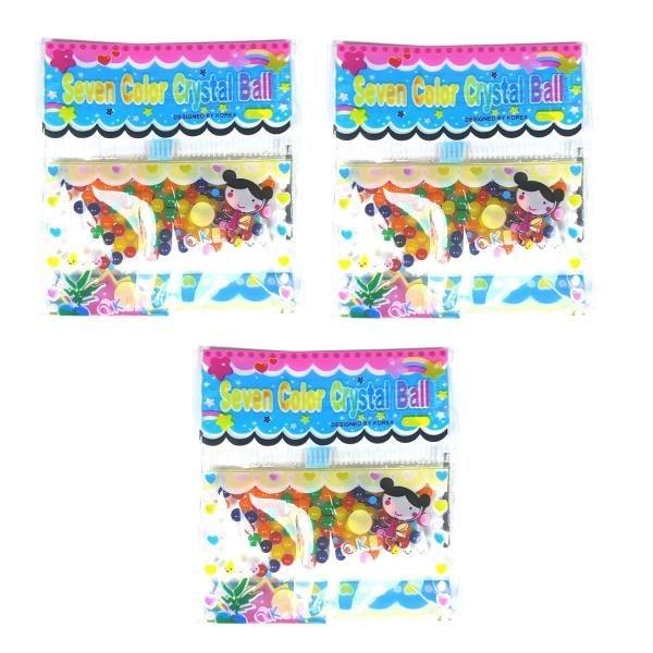 خاک ژله ای کریستالی مدل Seven Color بسته 3 عددی