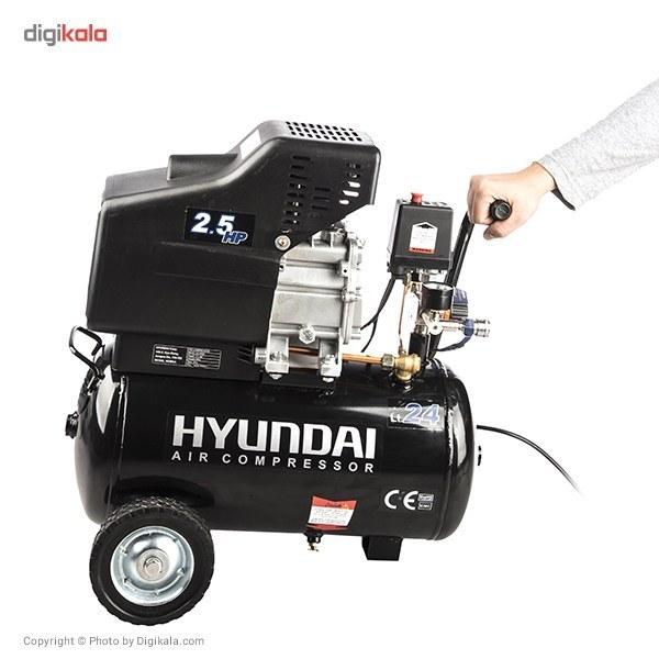 img کمپرسور هوای هیوندای مدل AC-2425 Hyundai AC-2425 Air Compressor