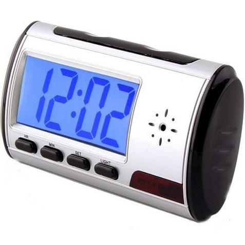 ساعت دیجیتال رومیزی دوربین دار – ساعت رومیزی با دوربین مخفی |