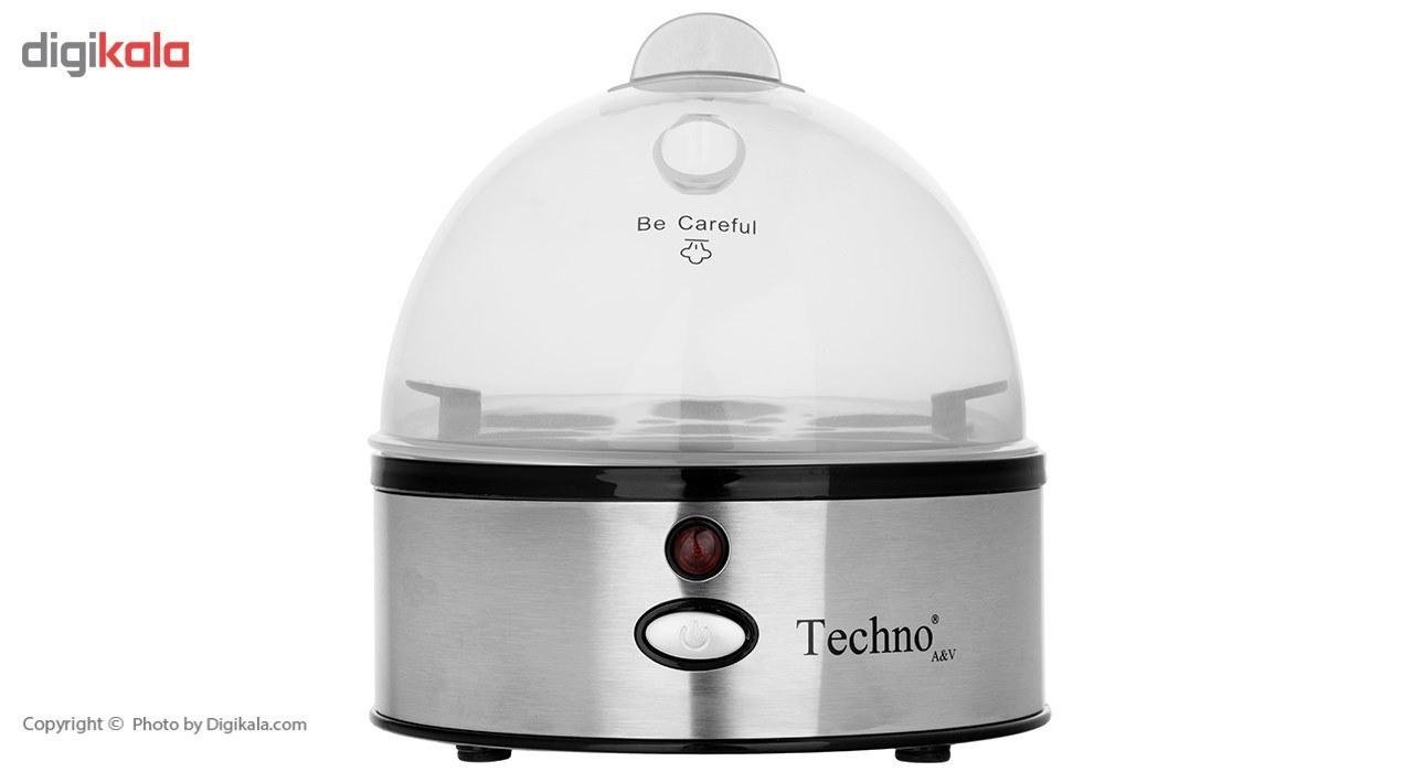 تصویر تخم مرغ پز تکنو مدل te-86 techno boiled eggs model te-86