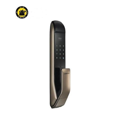 قفل دیجیتال سامسونگ مدل SHP-DP820 رمزدار و کارتی با دستگیره PULL-PUSH |
