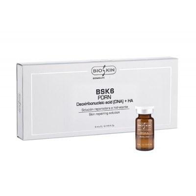 تصویر کوکتل جوانساز و ترمیم کننده پوست بایو اسکین BSK6 PDRN DNA + HA Bioskin Cocktail