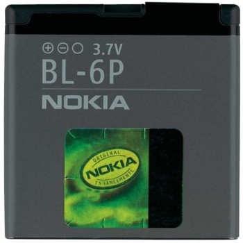 باتری موبایل مدل BL-۶P ظرفیت ۸۳۰ میلی آمپر ساعت مناسب برای گوشی موبایل نوکیا