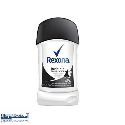 عکس استیک ضد تعریق رکسونا مدل invisible black and white حجم 40 میل  استیک-ضد-تعریق-رکسونا-مدل-invisible-black-and-white-حجم-40-میل