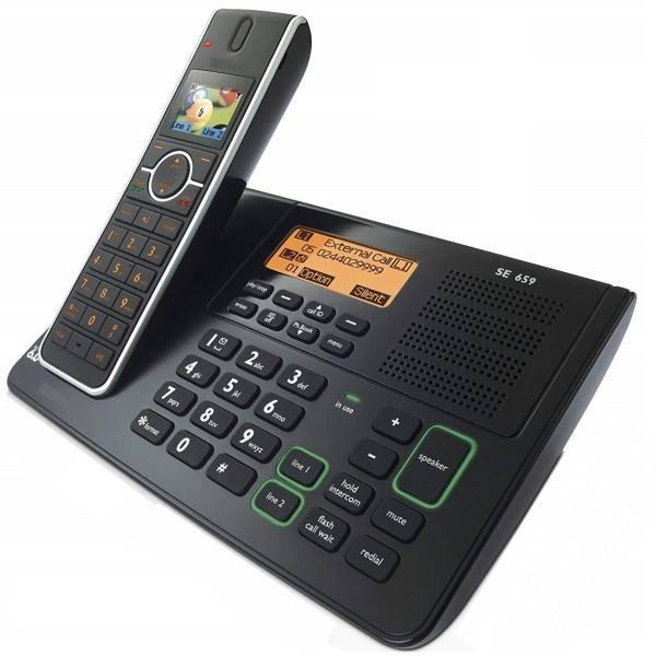 تصویر تلفن بی سیم دوخط مدل SE6591B