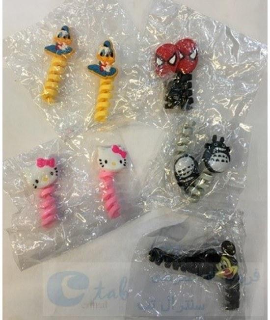 تصویر محافظ کابل شارژر ( مناسب انواع کابل ها ) - عروسکی