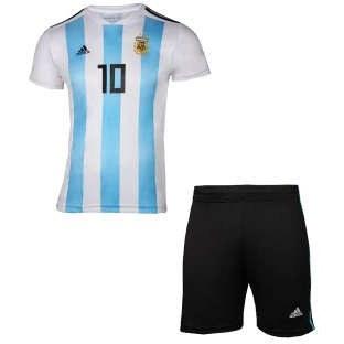 ست تی شرت و شلوارک ورزشی پسرانه طرح تیم آرژانتین کد 3047 |