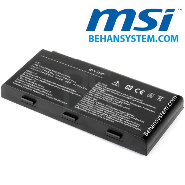 main images باتری لپ تاپ MSI مدل BTY-M6D