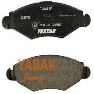 لنت ترمز جلو تکستار 2359701 مناسب برای پژو 206 تیپ 2 و3