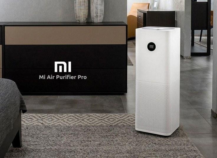 تصویر دستگاه تصفیه هوا شیائومی Mi Air Purifier Pro