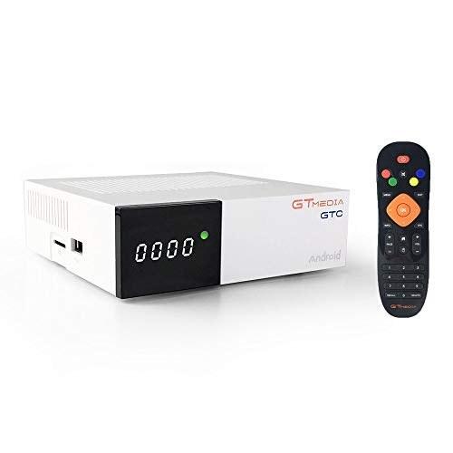 تصویر Docooler GTMEDIA GTC Android 6.0 TV Box DVB-S / S2 DVB-T / T2 / کابل / تلویزیون ISDBT تنظیم بالا جعبه 4K مدیا پلیر Amlogic S905D 2GB / 16GB 2.4G WiFi BT4.0 TV Receiver