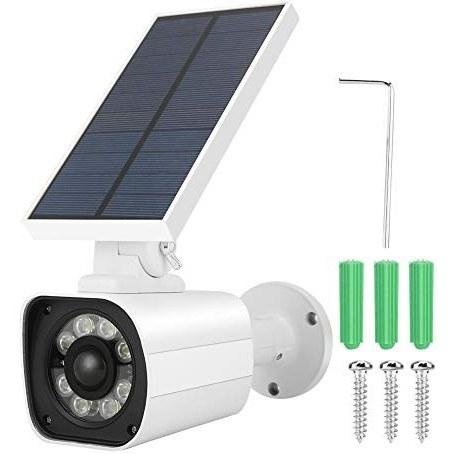 دوربین مجازی ، دوربین گلوله مانیتور خورشیدی آنالوگ خورشیدی با سنسور هوشمند خورشیدی هوشمند و مقاومت در برابر آب IP66 برای مناطق خارجی مانند باغ ها ، گاراژها