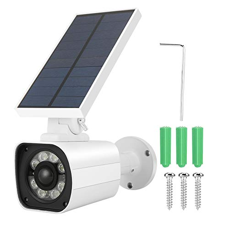 main images دوربین مجازی ، دوربین گلوله مانیتور خورشیدی آنالوگ خورشیدی با سنسور هوشمند خورشیدی هوشمند و مقاومت در برابر آب IP66 برای مناطق خارجی مانند باغ ها ، گاراژها