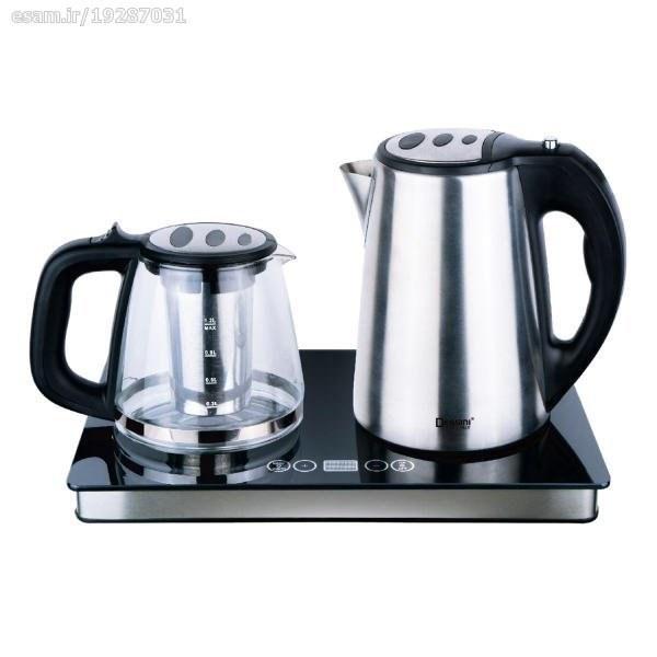 تصویر چای ساز دسینی 2200 وات Dessini 9009 Tea Maker 9009 Dessini Tea Maker