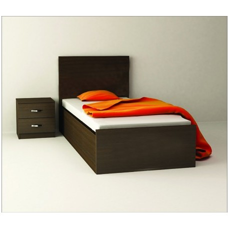 تخت خواب یک نفره ساده |