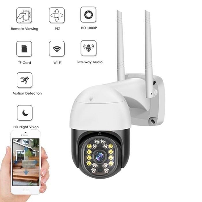 تصویر دوربین بی سیم مینی اسپید دام V380PRO ا Wifi PTZ 1080P Mini Speed Dome IP Camera V380 PRO Wifi PTZ 1080P Mini Speed Dome IP Camera V380 PRO