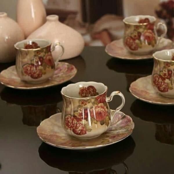 تصویر سرویس چای خوری لمونژ 1033