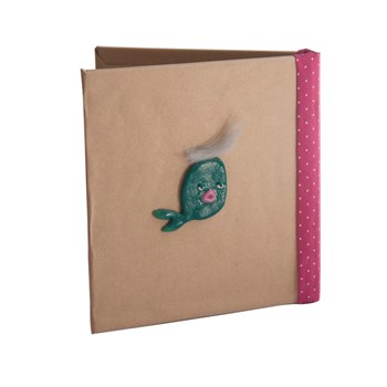 لیست قیمت دفترچه دست ساز بیگای استودیو مدل ماهی ترب