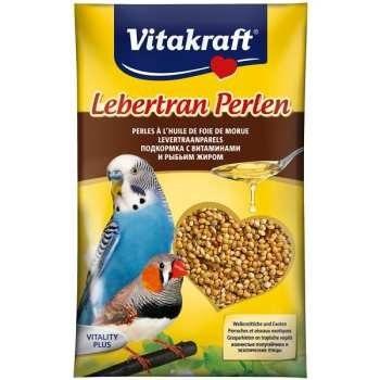 غذای تقویتی مرغ عشق و فنچ ویتاکرافت مدل Codilver-perls کد 21192 وزن 20 گرم بسته 3 عددی |