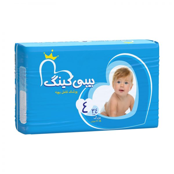 تصویر پوشک مای بیبی 34 عددی سایز 4 My Baby my baby Diapers size 4 code:6106
