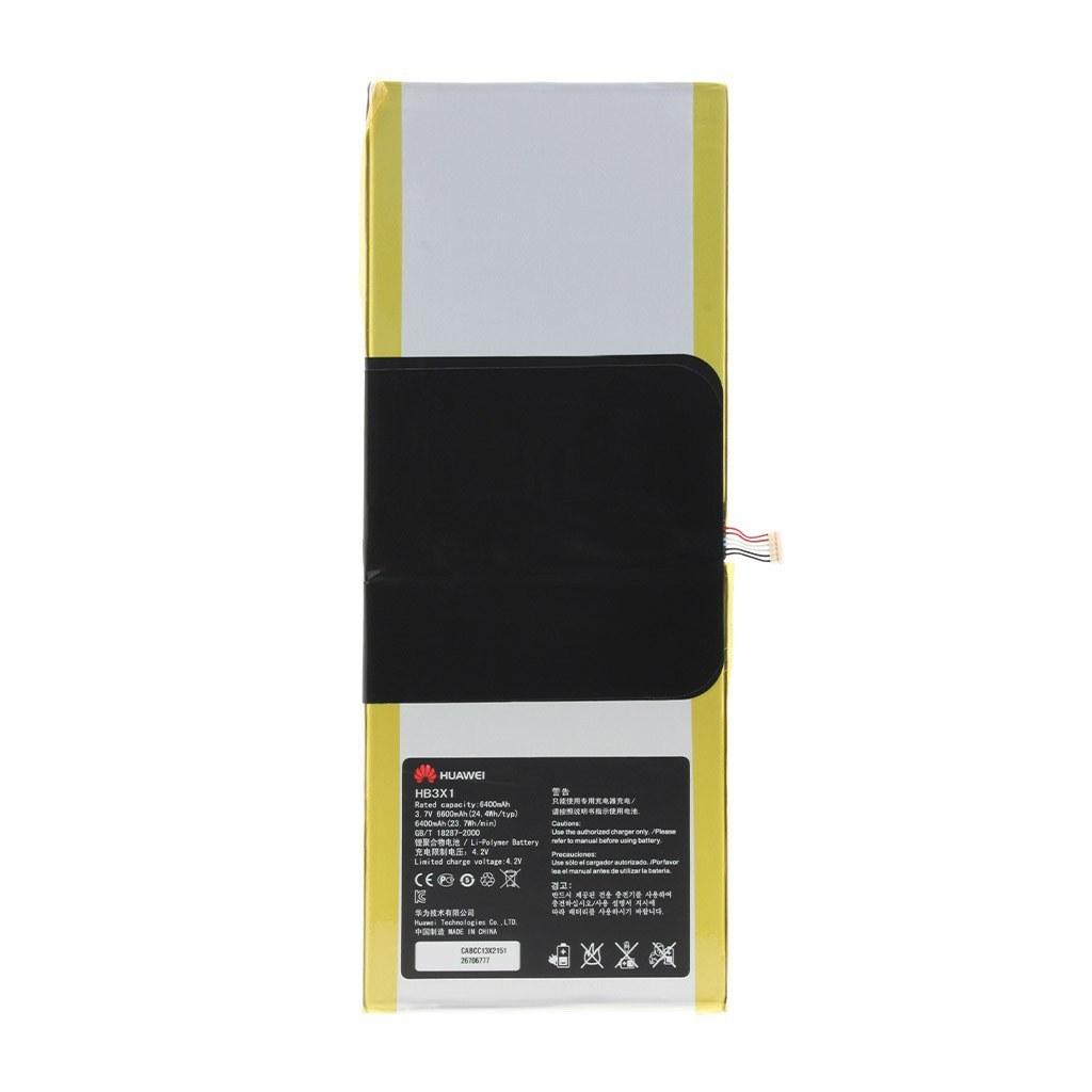 تصویر باتری اورجینال تبلت هواوی HB3X1 ظرفیت 6600 میلی آمپر ساعت Huawei HB3X1 6600mAh Original Tablet Battery