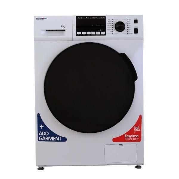 تصویر ماشین لباسشویی درب از جلو پاکشوما Pakshoma TFU-94407-9Kg