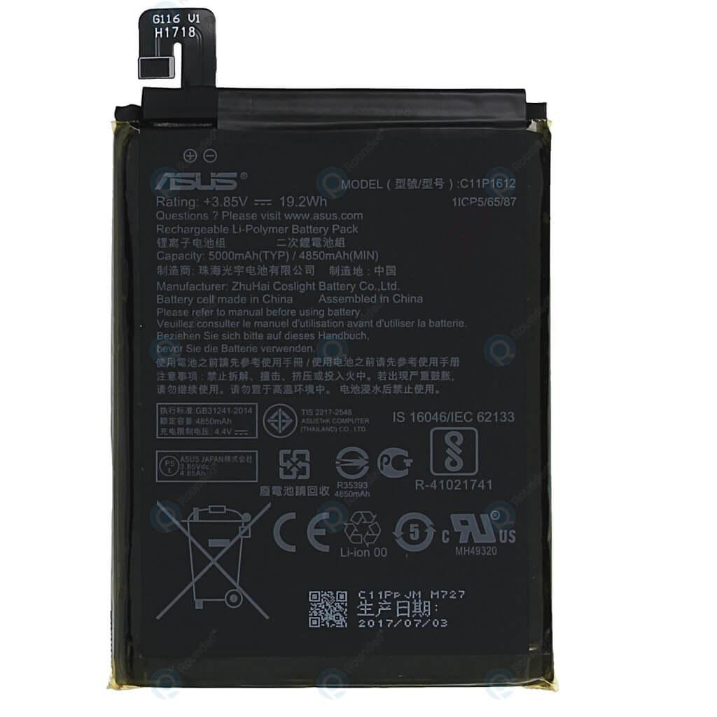 تصویر باتری ایسوس Asus Zenfone 3 Zoom ZE553KL مدل C11P1612 battery Asus Zenfone 3 Zoom ZE553KL model C11P1612