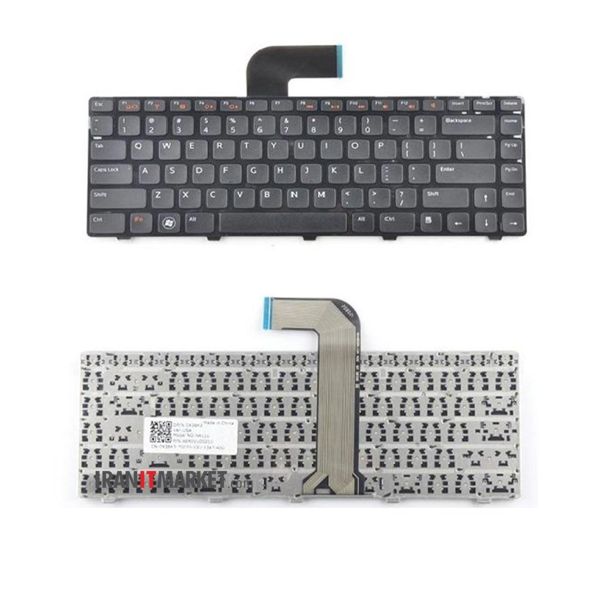 تصویر کیبورد لپ تاپ دل KEYBOARD Dell Inspiron N5040