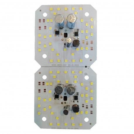 تصویر چیپ پروژکتور ال ای دی 50 وات مدل 2835 بسته 2 عددی
