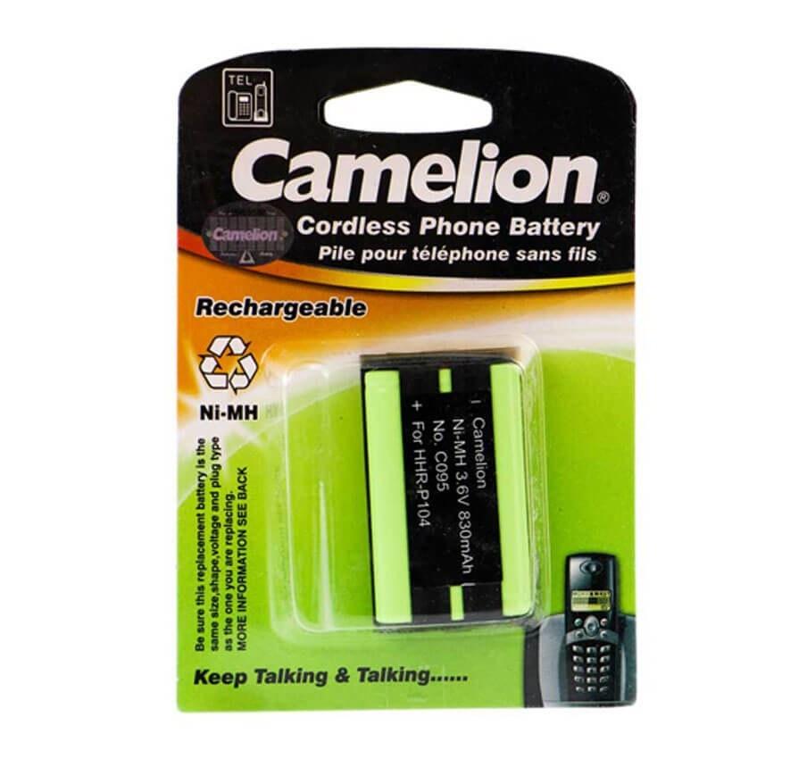 تصویر باتری تلفن شارژی Camelion C095 P104 830mAh Camelion C095 P104 830mAh Cordless Phone Battery