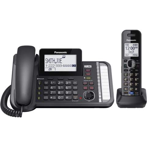 تصویر تلفن بیسیم پاناسونیک مدل KX-TG9581 Panasonic KX-TG9581 Wireless Phone