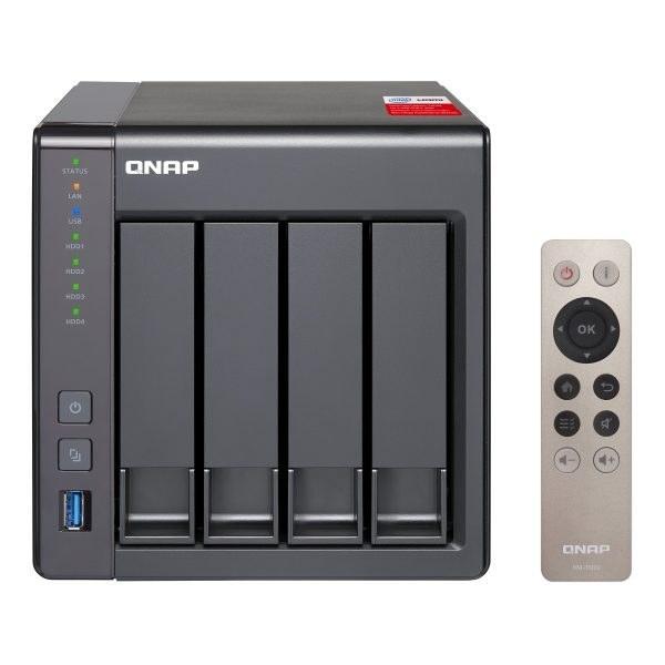ذخیره ساز تحت شبکه بدون هارد دیسک کیونپ مدل TS-451+- QNAP