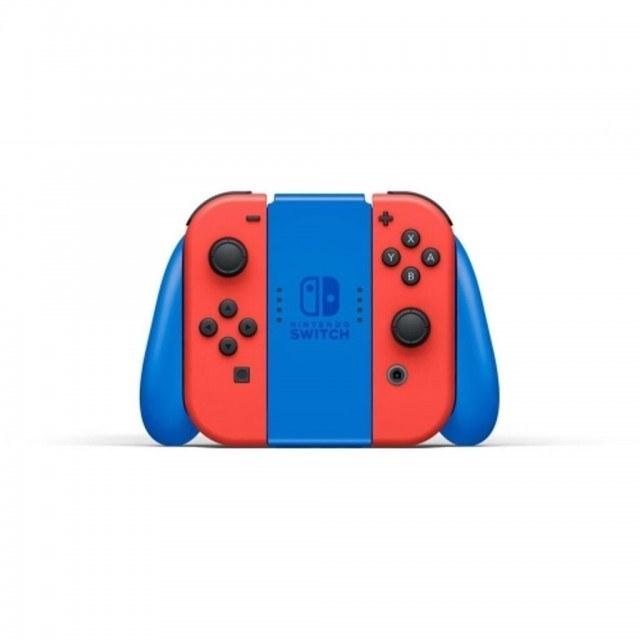 تصویر نینتندو سوییچ مدل Mario Red and Blue