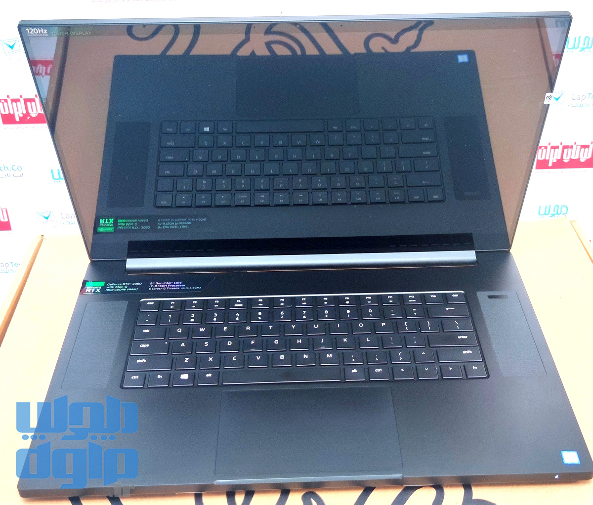 تصویر لپ تاپ فوق حرفه ای RAZER BLADE PRO 17 2020