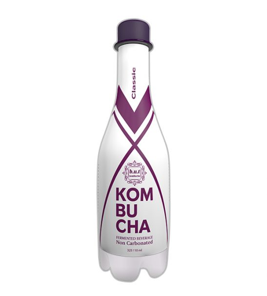 نوشیدنی کامبوچا با استارتر کلاسیک 325ML بسته 12 عددی |