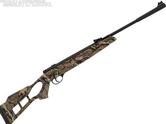 تفنگ بادی هاتسان 1100 استتار کالیبر 5.5 نو و پلمپ