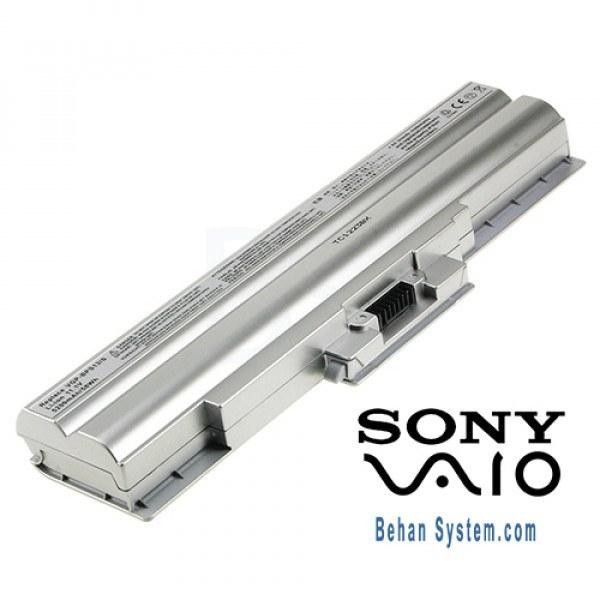 تصویر باتری لپ تاپ سونی مدل VGP-BPS13 رنگ نقره ای (برند M&M دارای سلول سامسونگ ساخت کره)