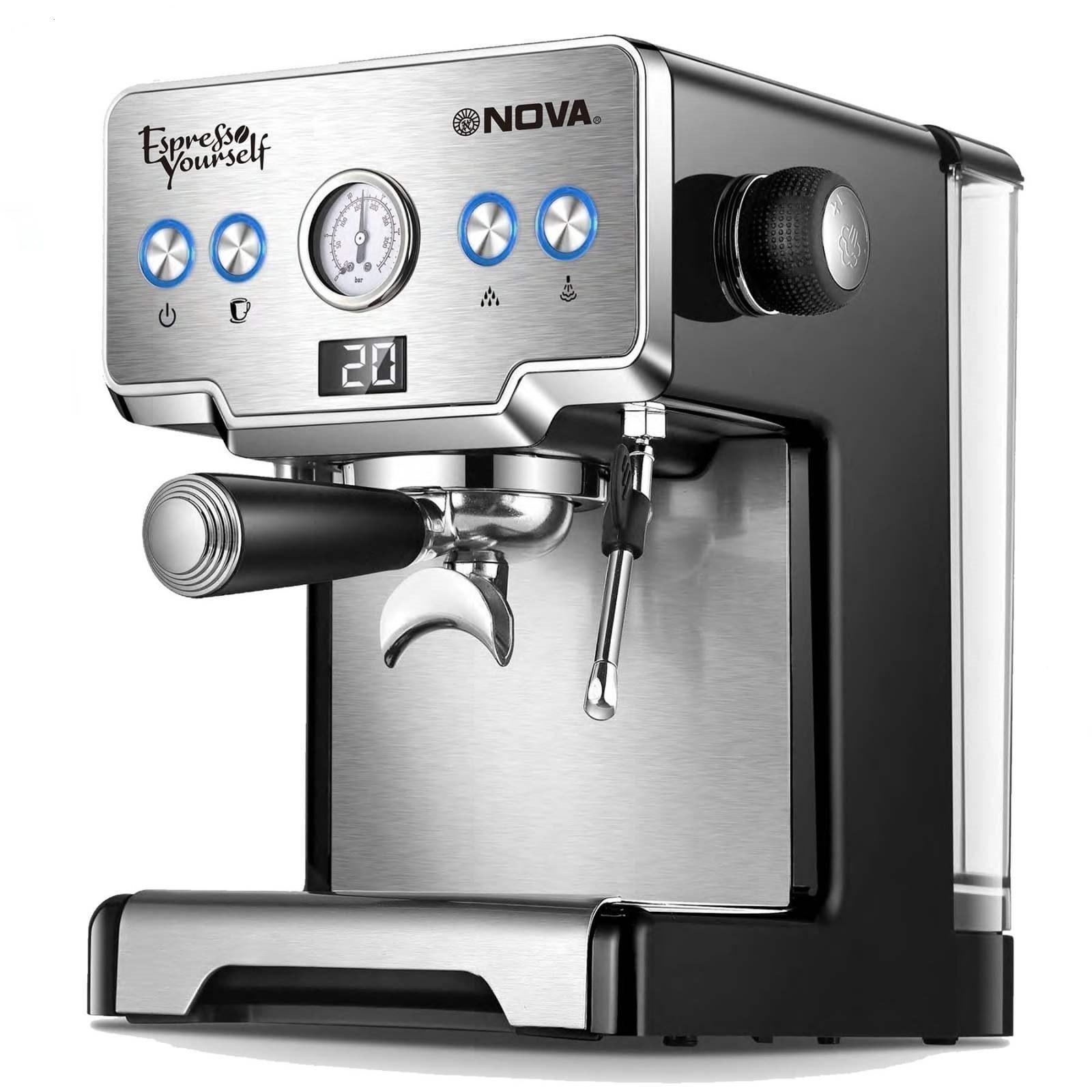 تصویر اسپرسوساز نوا مدل NOVA NCM-128EXPS NOVA NCM-128EXPS Espresso Maker