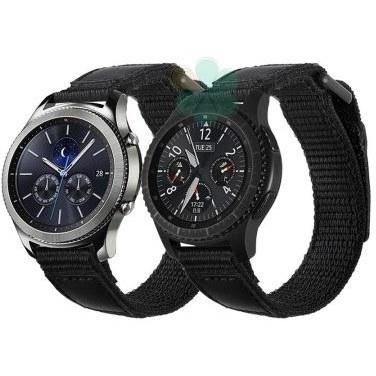 بند ساعت سامسونگ Gear S3 مدل نایلون چسبی | Samsung Gear S3 Nylon Band Strap