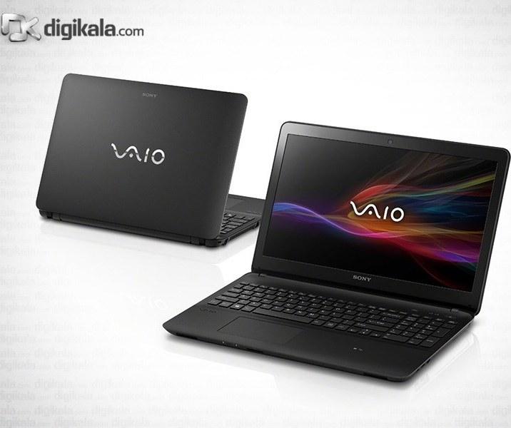img لپ تاپ ۱۵ اینچ سونی VAIO SVF153290X Sony VAIO SVF153290X | 15 inch | Core i7 | 8GB | 1TB | 2GB