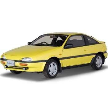 خودرو نیسان NX دنده ای سال 1993 | Nissan NX Coupe 1993 MT