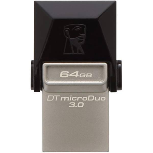 main images فلش مموری USB 2.0 OTG کینگستون مدل DTDUO ظرفیت 64 گیگابایت Kingston microDuo DTDUO USB 2.0 OTG Flash Memory 64GB