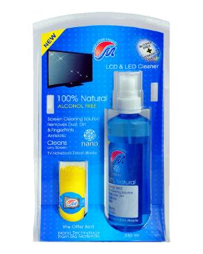 تصویر کيت تميزکننده LCD و LED مهرتاش - 250 ميلي ليتر Mehrtash Nano Antibacterial Cleaner Kit For LCD And LED Display 250ml