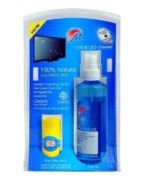 کيت تميزکننده LCD و LED مهرتاش - 250 ميلي ليتر | Mehrtash Nano Antibacterial Cleaner Kit For LCD And LED Display 250ml