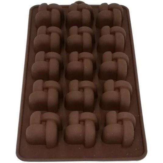 تصویر قالب سیلیکون شکلات 4 پر