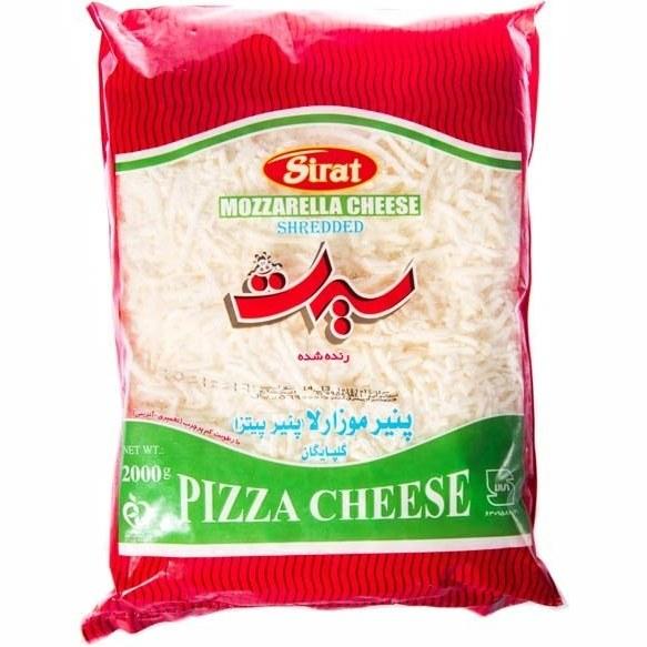 تصویر پنیر پیتزا موزارلا سیرت ۲ کیلوگرمی -