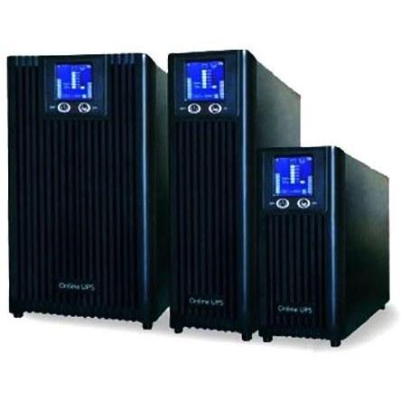 تصویر یو پی اس آنلاین تک فاز اگزیم پاور D6K 6KVA EximPower D6K Single Phase Online UPS