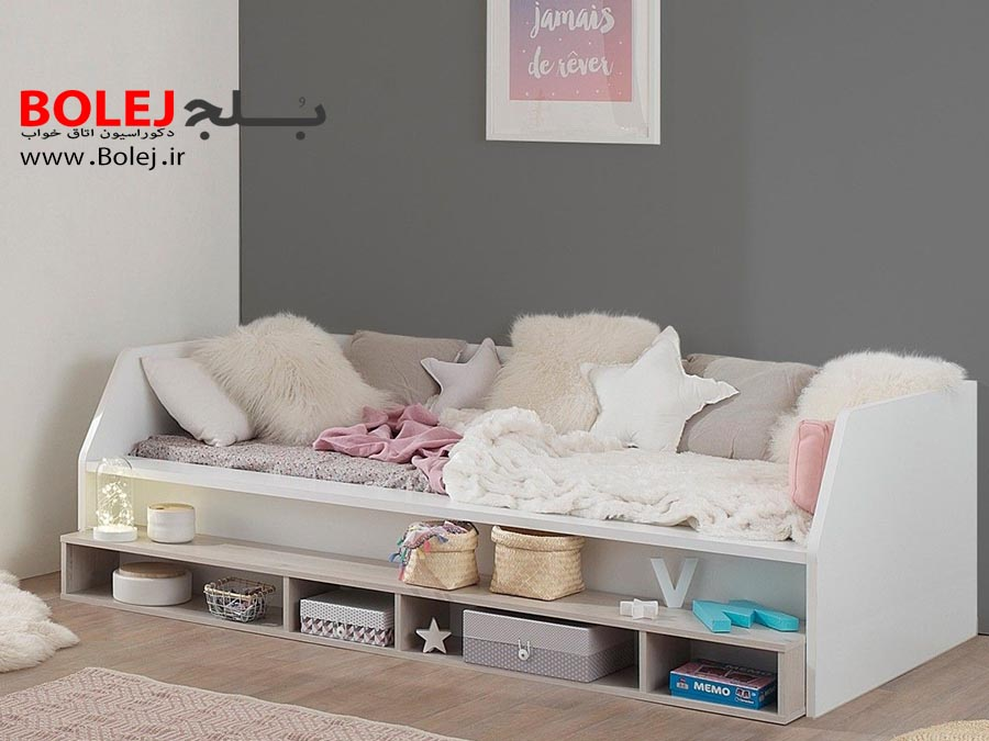 تخت خواب یک نفره BS 905